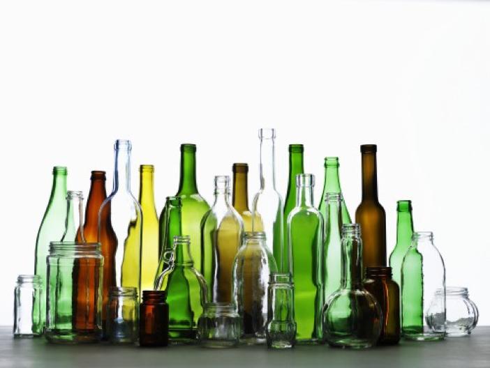 انواع بطری شیشه ای و جار شیشه ای