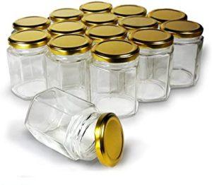 فروش عمده جار شیشه ای عسل
