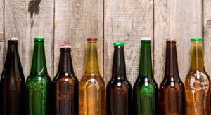 ظروف بسته بندی بطری شیشه ای رنگی