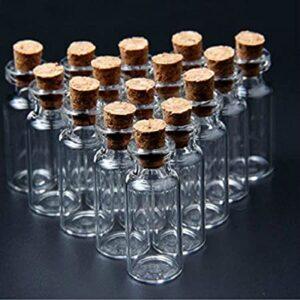 قیمت بطری شیشه ای عمده و با درب چوب پنبه