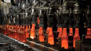 ساخت بطری شیشه ای