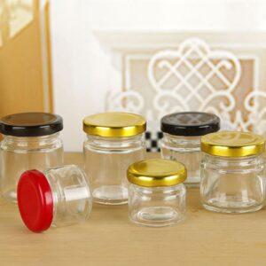 خرید انواع جار شیشه ای کوچک