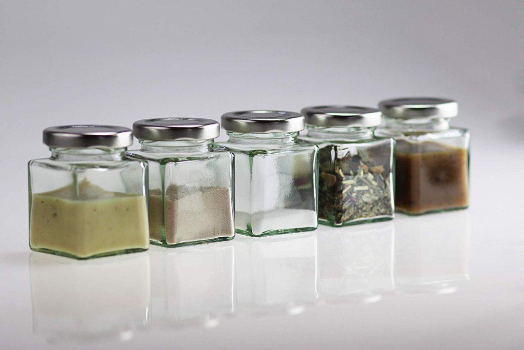 خرید جا ادویه شیشه ای ارازان و شیک | جار شیشه ای ادویه
