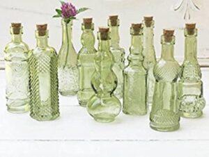 خرید بطری شیشه ای با چوب پنبه