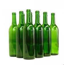 بطری شیشه ای بزرگ