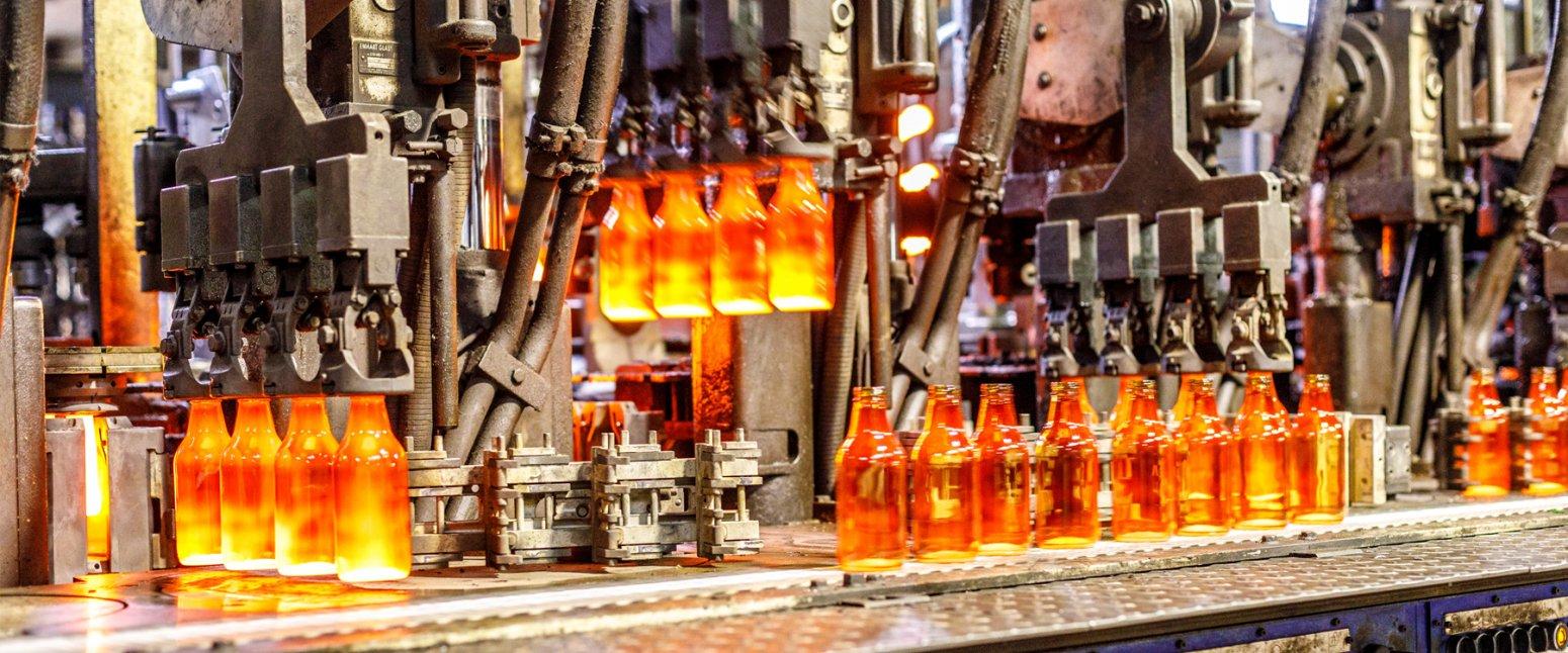 خرید بطری شیشه ای از کارخانه